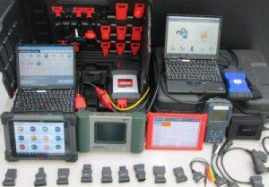 整備士 診断機写真